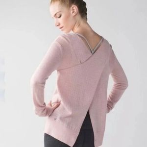 Lululemon sunset savasana sweater 4